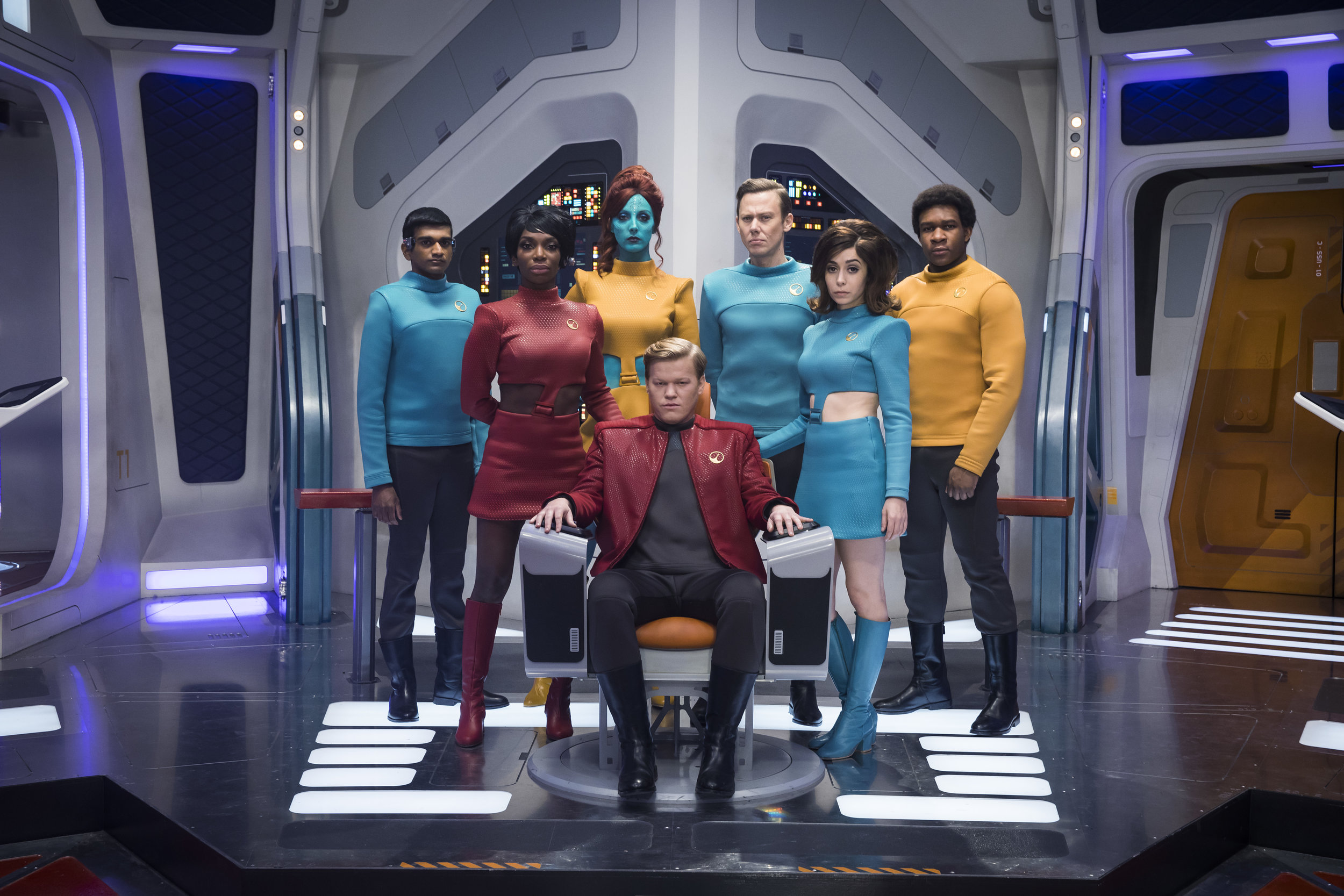 U.S.S. Callister  is a standout among the new Black Mirror episodes released this week. (Netflix)