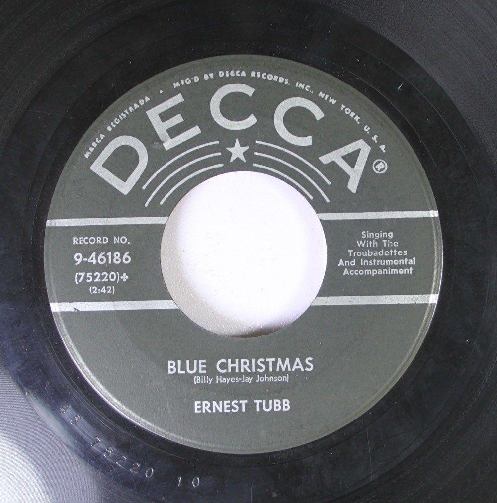 Blue Christmas Tubb 45.jpg