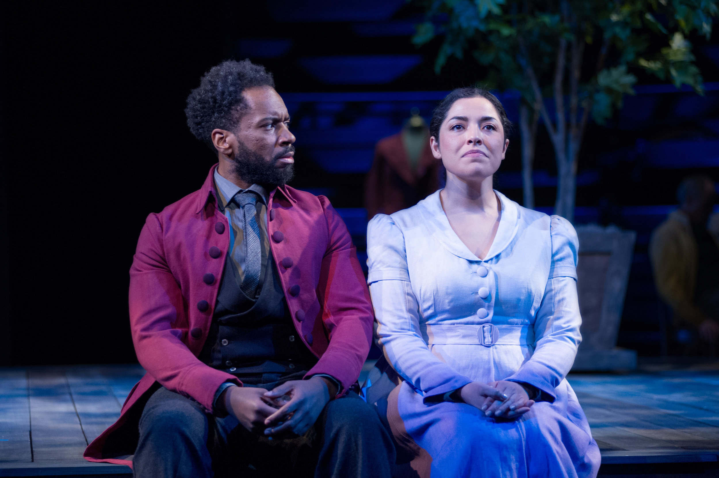 Joshua David Robinson and Jacqueline Correa in  JQA.