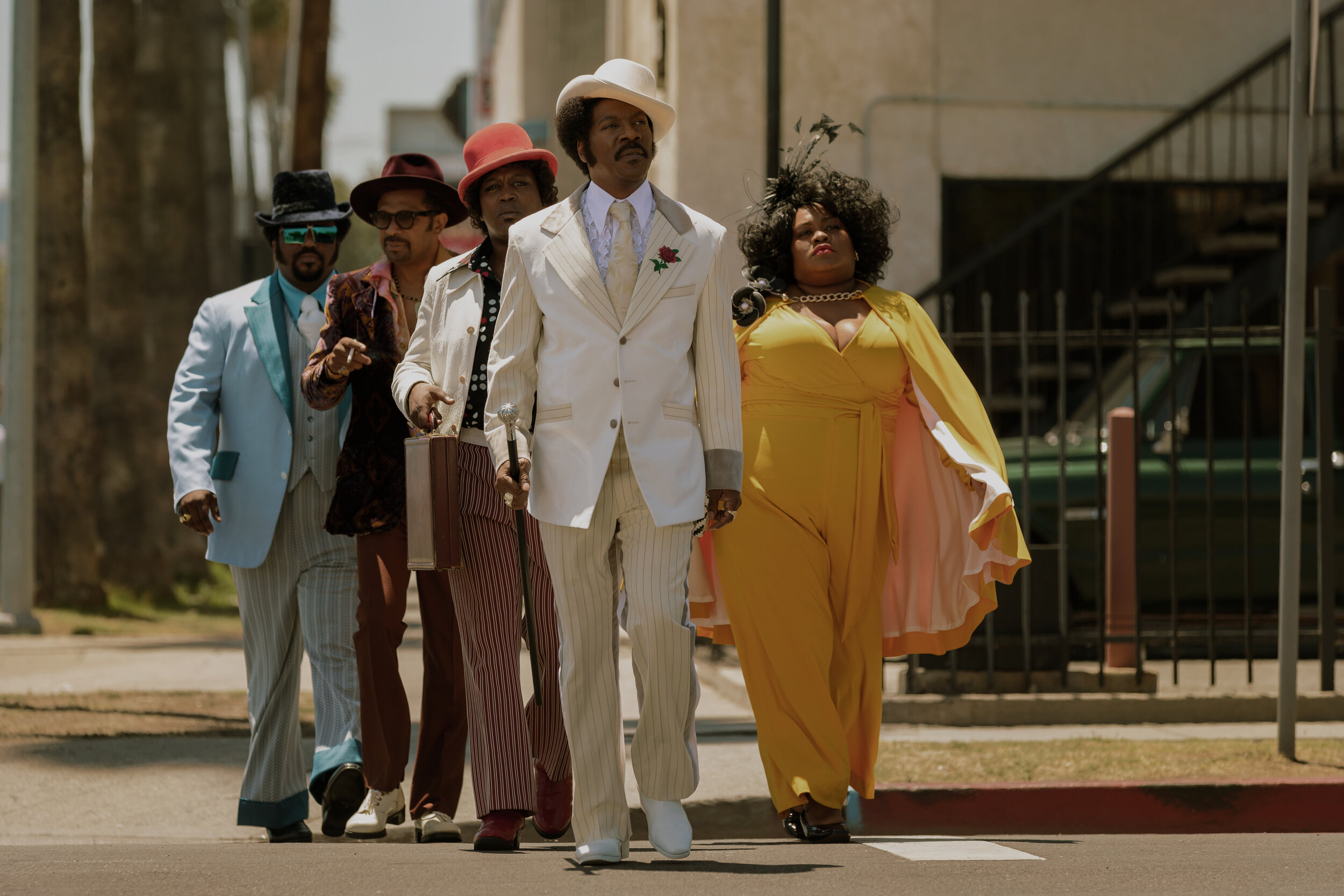 Eddie Murphy and Da'Vine Joy Randolph lead a topnotch cast in this Rudy Ray Moore biopic. (Netflix)