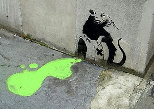 photo from    http://www.inspirationgreen.com/banksy-environment.html