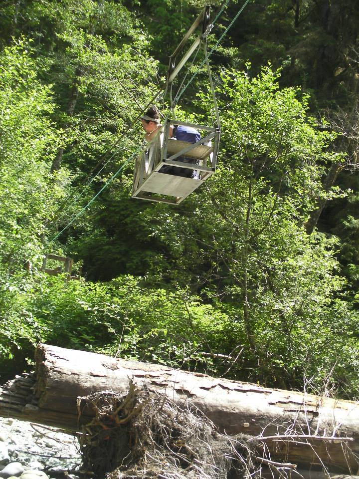 Did I mention the cable cars at some of the bigger stream crossings?! So cool!
