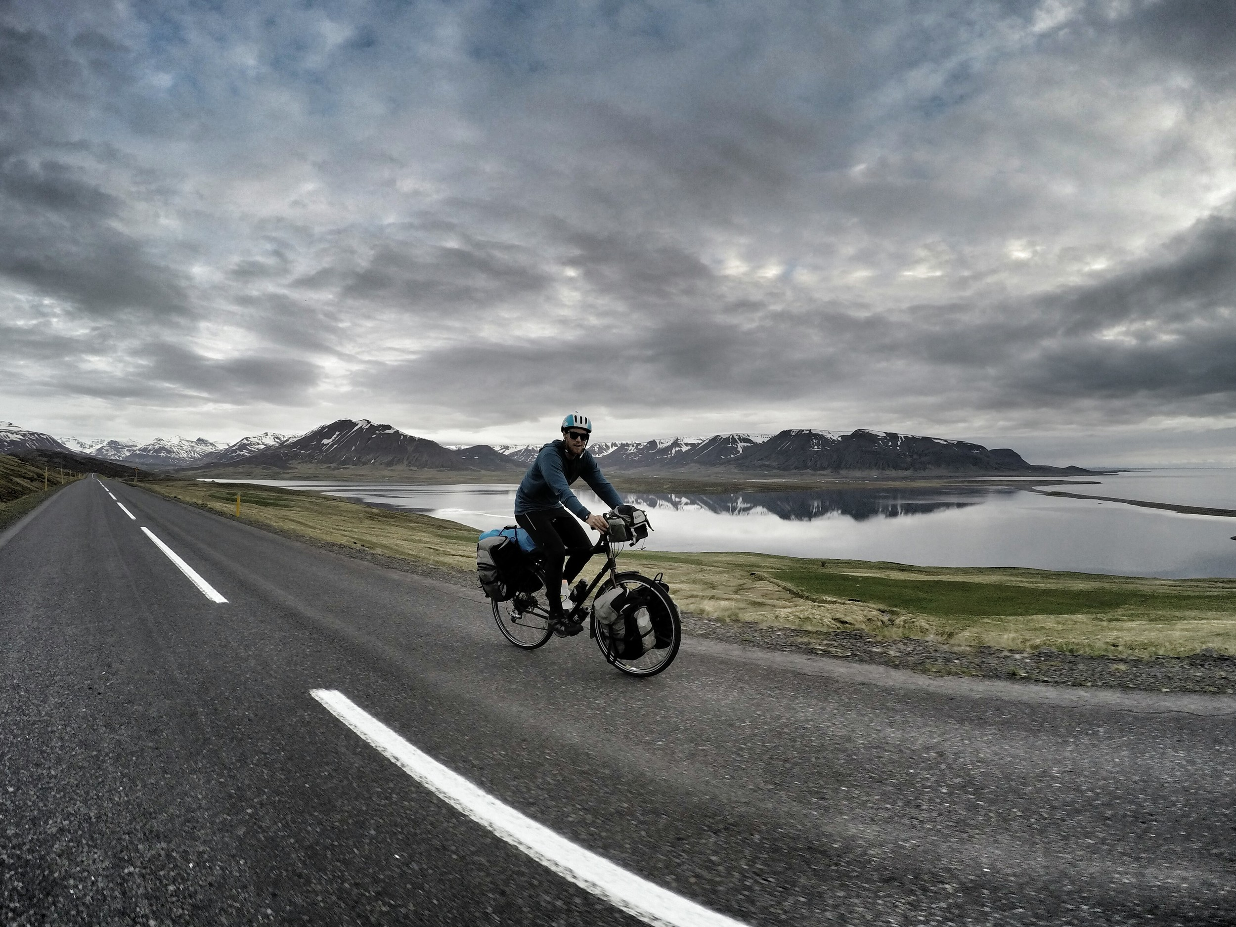 I think the fondest memory of our cycling circumnavigation of Iceland was simply the routine of getting up from the tent and cycling all day for 16 days. The freedom of direction and intimacy of our slow speed gave us such a feeling of independence that it made me smile even during the toughest of winds or steepest of climbs.