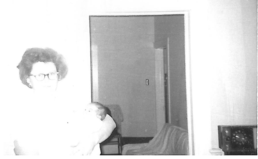 The first day with my mom