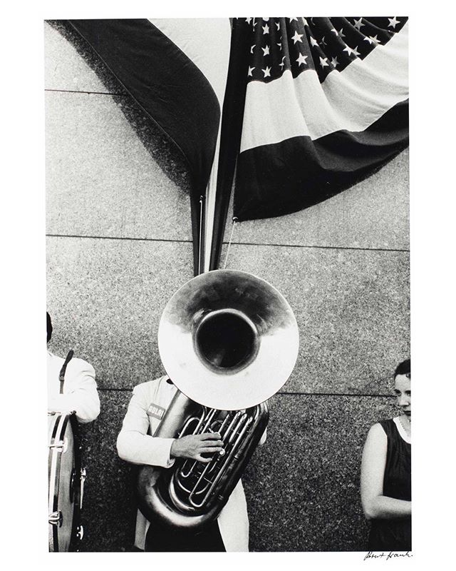 This photograph by Robert Frank, who died this week, sealed my devotion to photography. His photos could be playful, spontaneous, wry, and darkly critical all at the same time. I remember taking to the streets of Chicago, as a photography student from the University of Iowa, with this image in the back of my mind. #robertfrank #universityofiowa