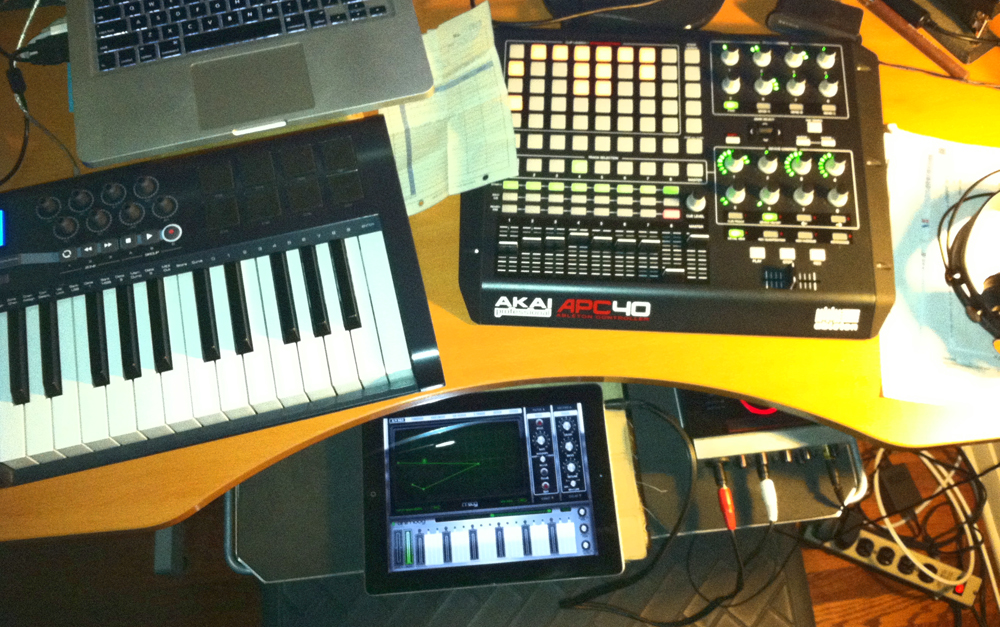 Working on a track for the new tay0 release Possible Futures.