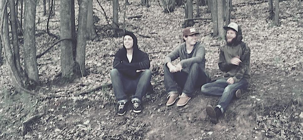 Kindred Fellow: (from left) Stephen Oliver, Andrew Oliver, Dakota Parler.