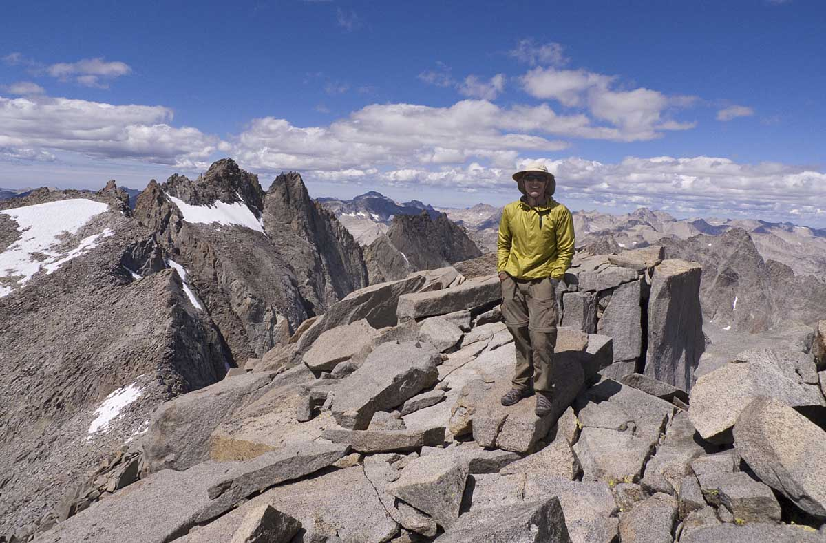 """We highly recommend summiting Mount Sill. At (14,162 feet) it is a classic climb and one of the most beautiful peaks in the Sierra. According to R.J. Secor in his highly recommended book The High Sierra, """"Mount Sill has the best summit view of any peak in the Sierra."""""""