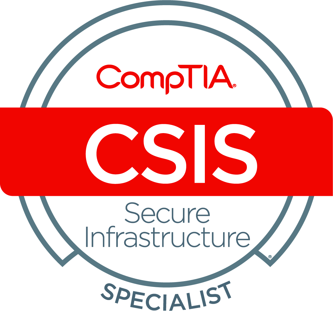 Cybersecurity CompTIA Secure Infrastructure Specialist - CSIS logo.jpg