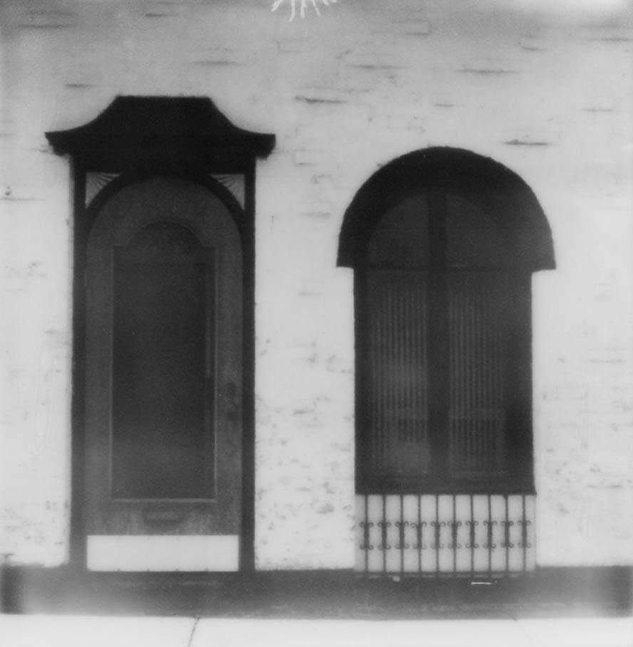 door, window