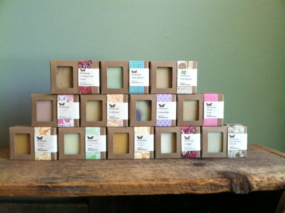 Moots Soaps line of cold processed soaps, $6.