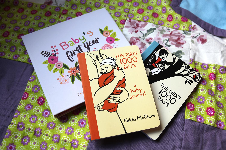 Baby Journals, $15.95-$35 (Lucy Darling, Nikki McClure)