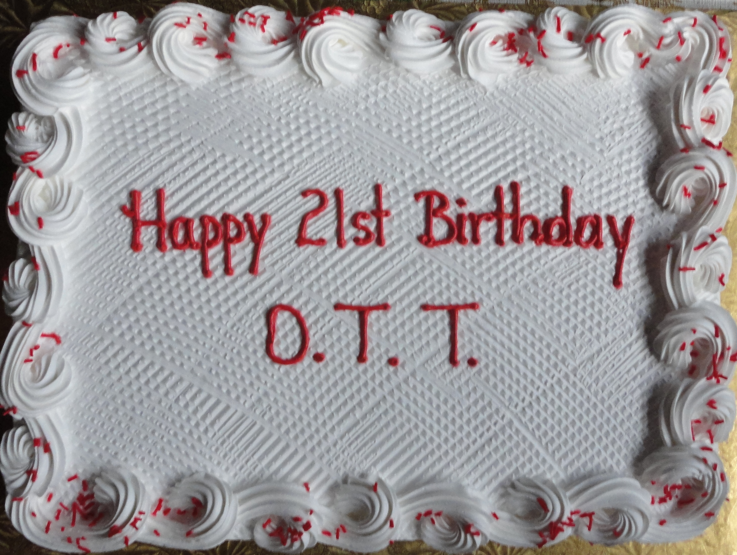 OTT Birthday at Dreamaker Family Campground