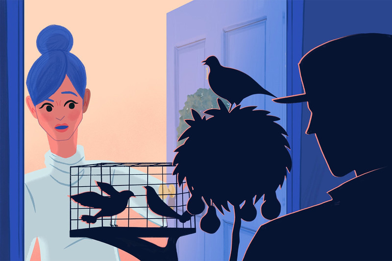 The Twelve Days of Christmas: A Tale of Avian Misery ( Delightful animated short by Anomaly narrated by Phoebe Waller-Bridge  -