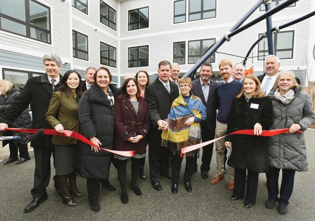 Residences at Fairmount Station Ribbon Cutting
