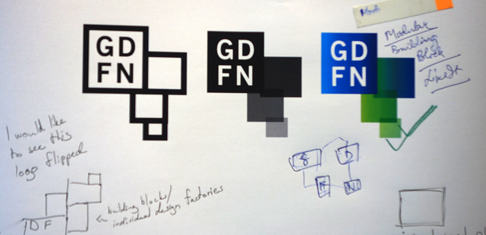 GDFN Logo Development, design workshop involving global participents, Tongji University, Shanghai China