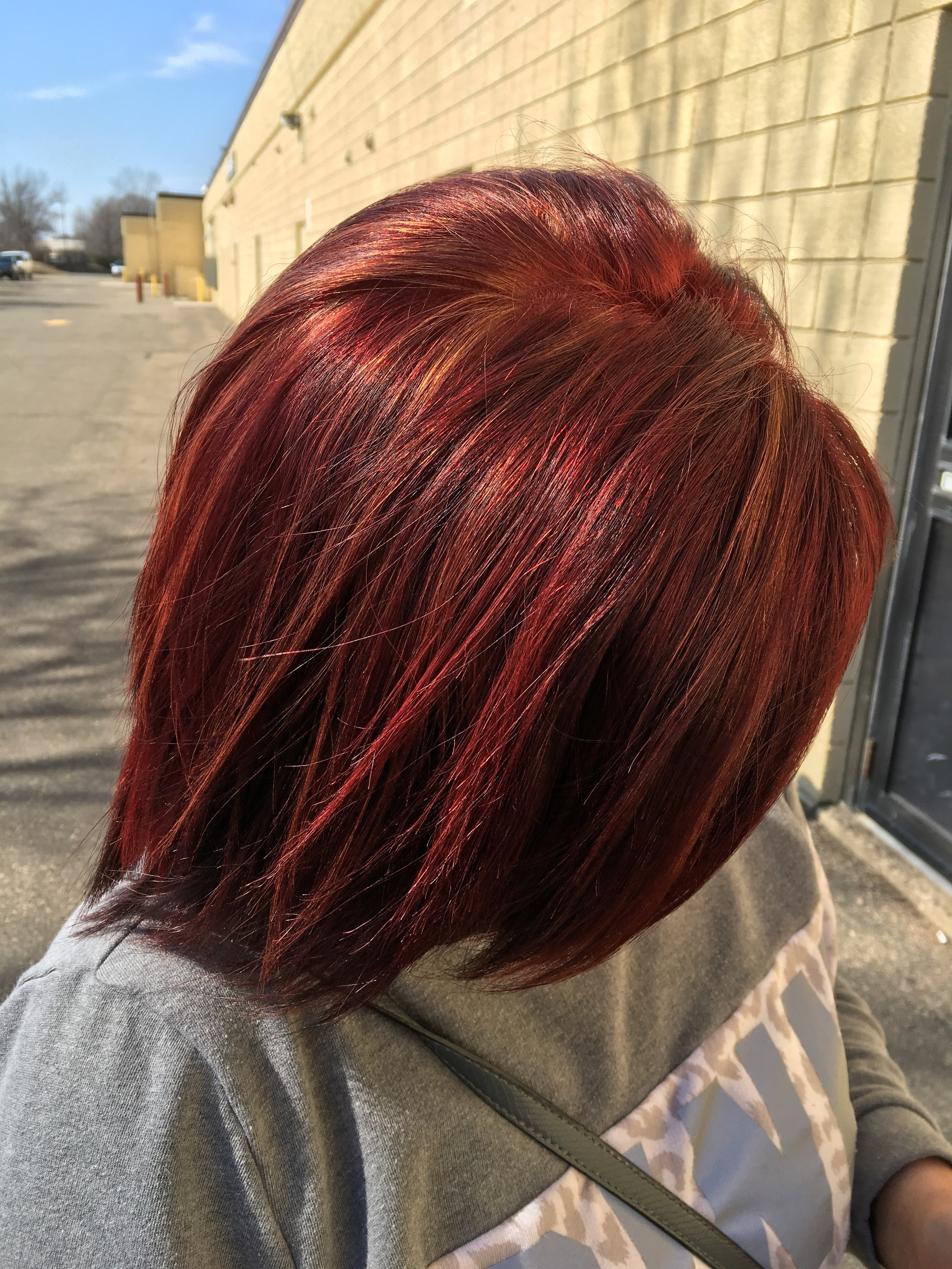 Black to red makes for a fun day!