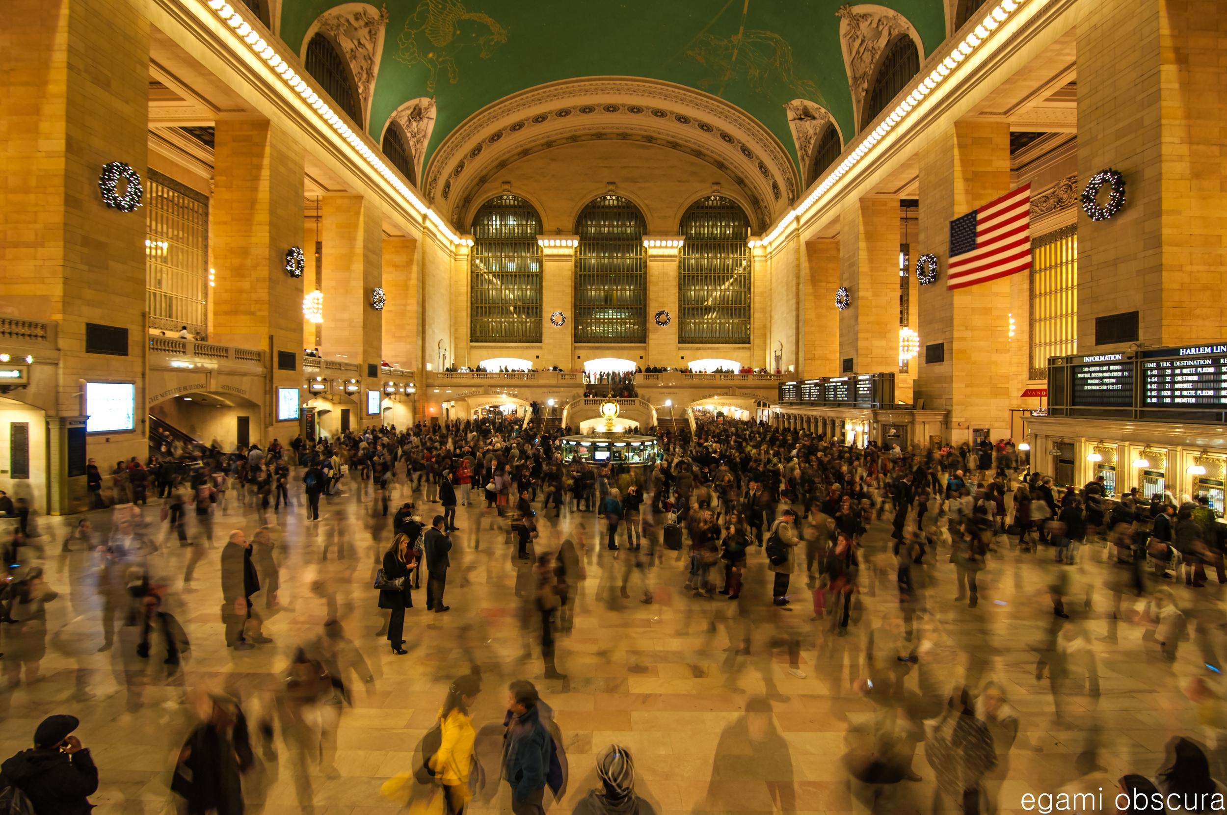 Grand Central Terminal...Velocity