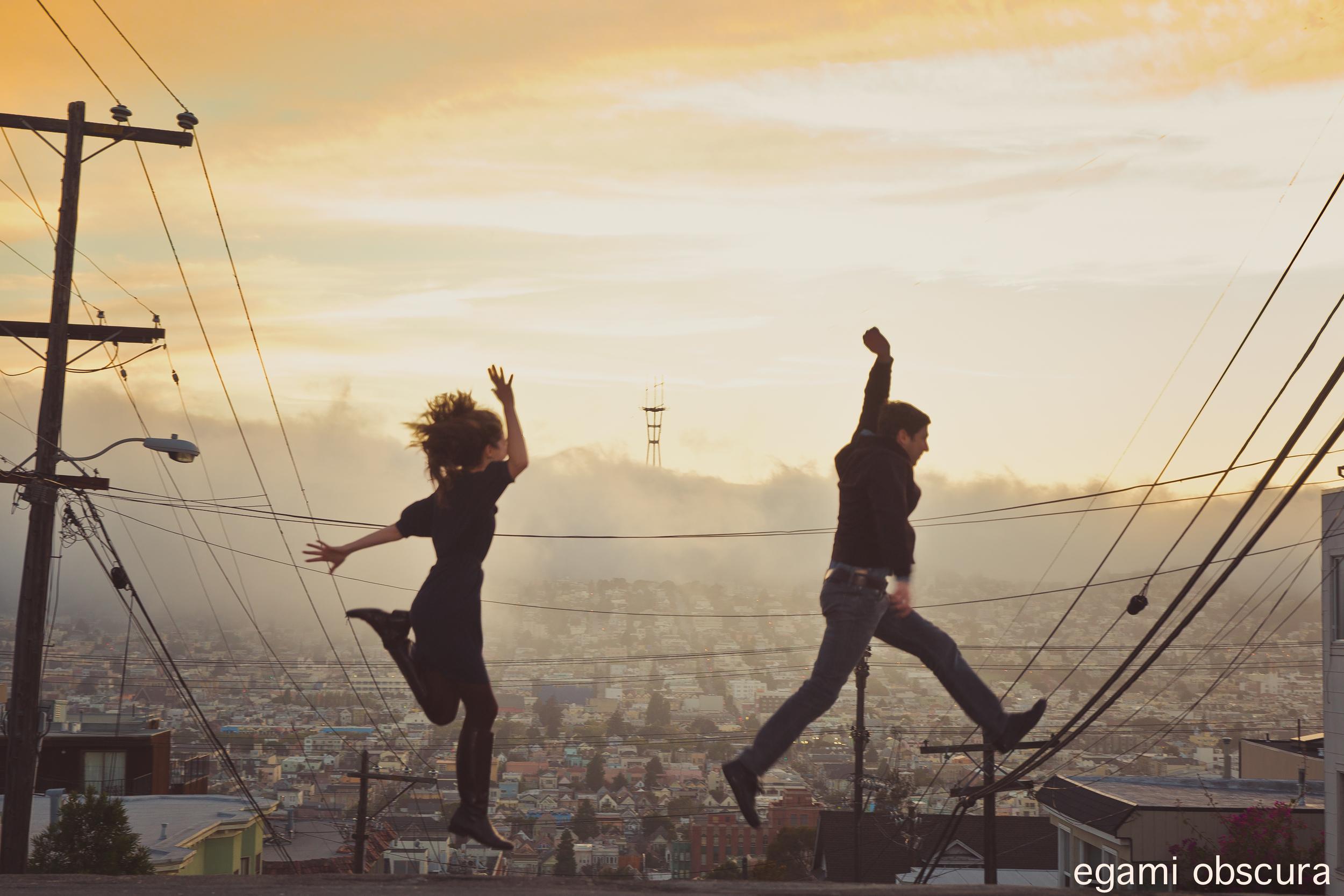 Airwalking in San Francisco