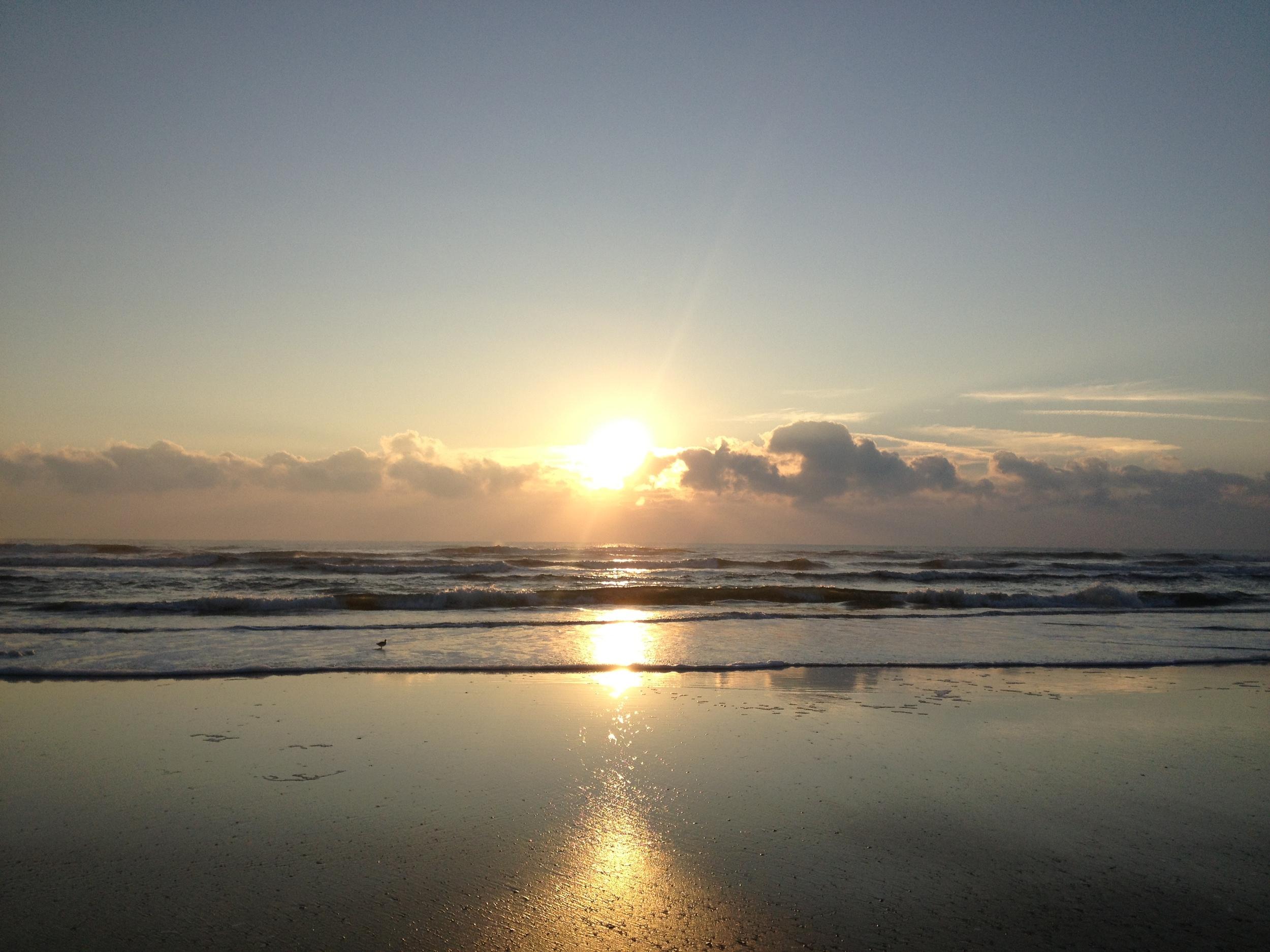 Sunrise, St. Augustine, October 10 2012