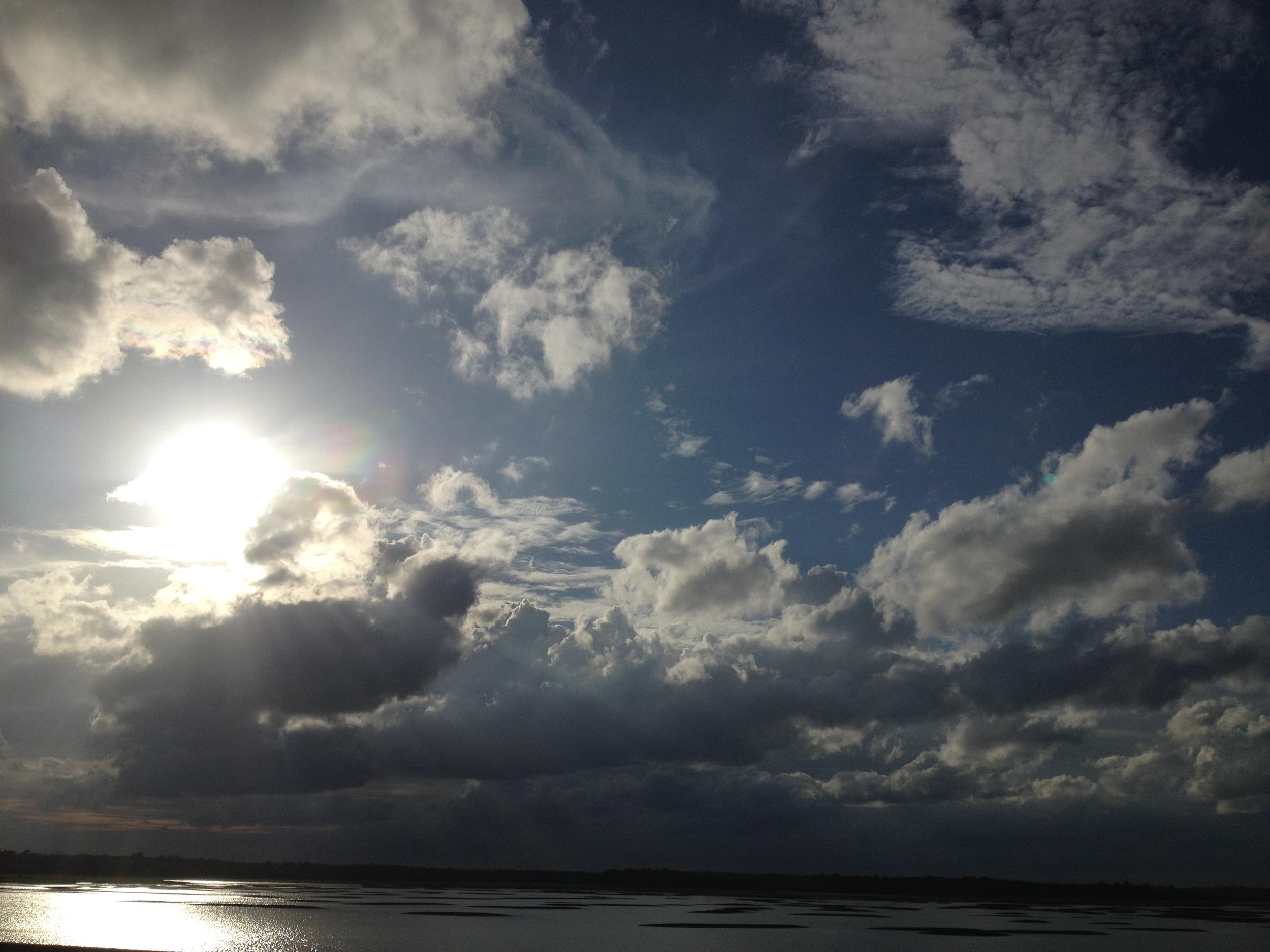 Intracoastal at low tide, October 2 2012