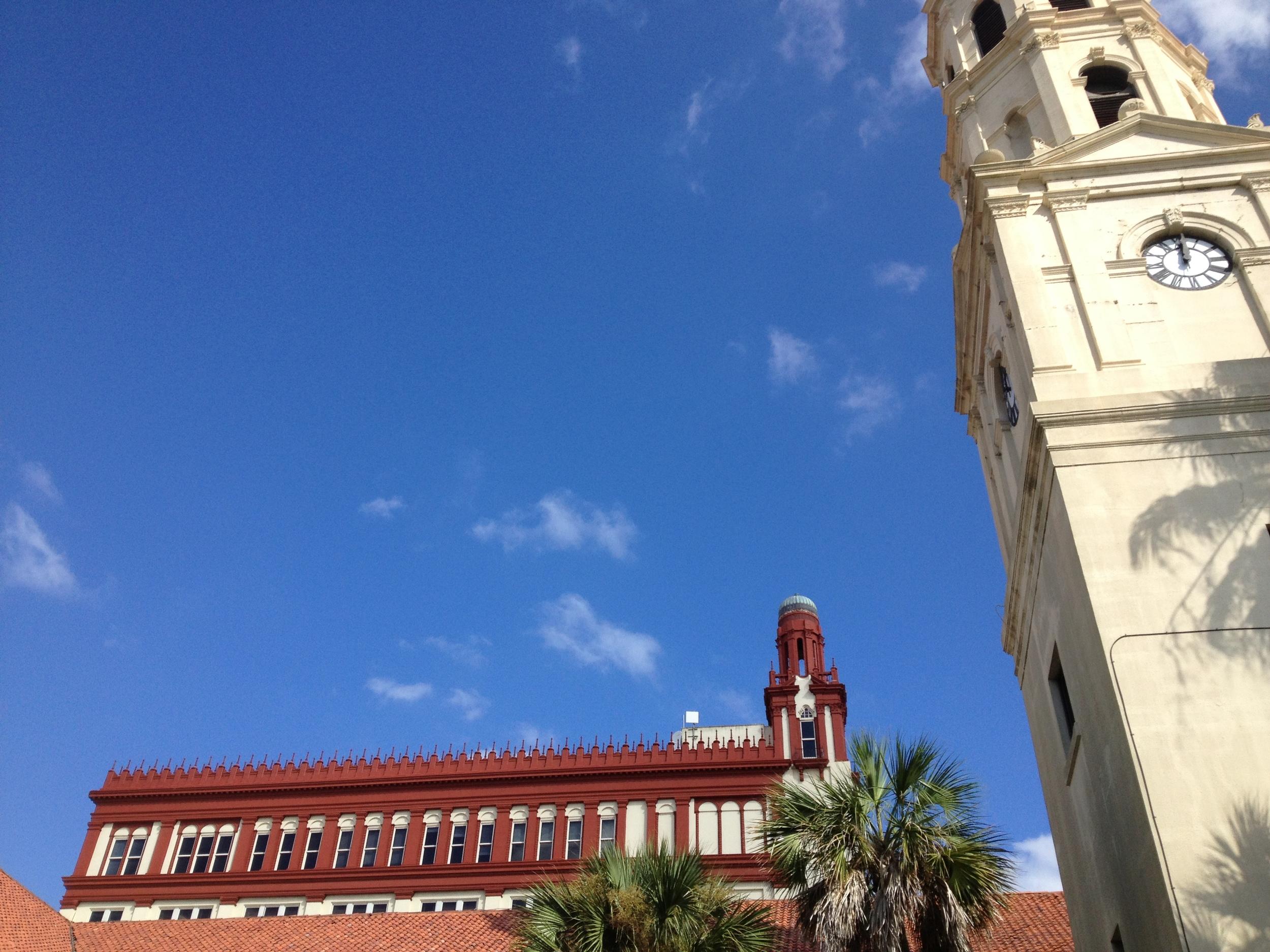 St. Augustine building-tops, October 11 2012