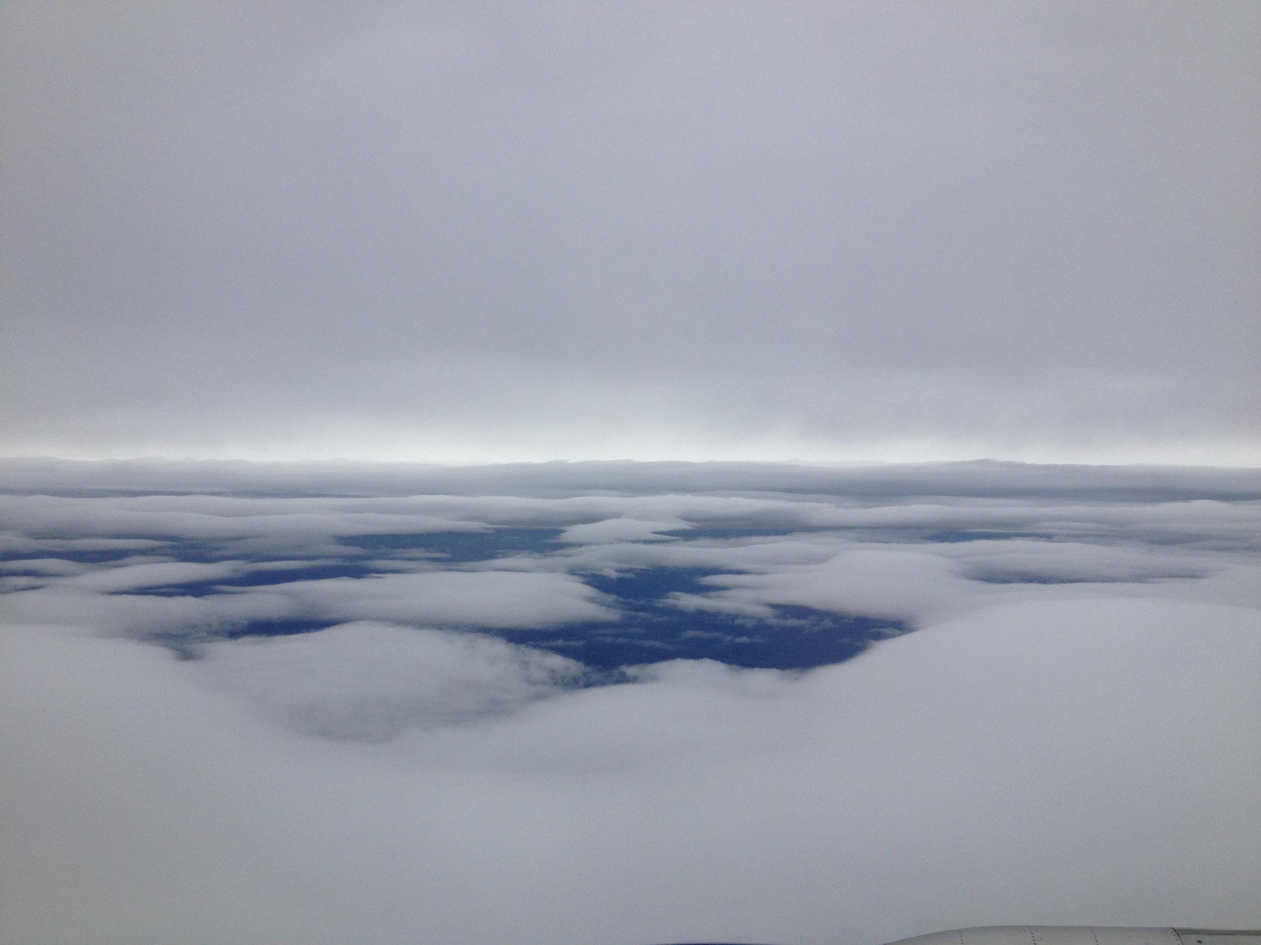 Sandy's edges from above NY, 10-27-12