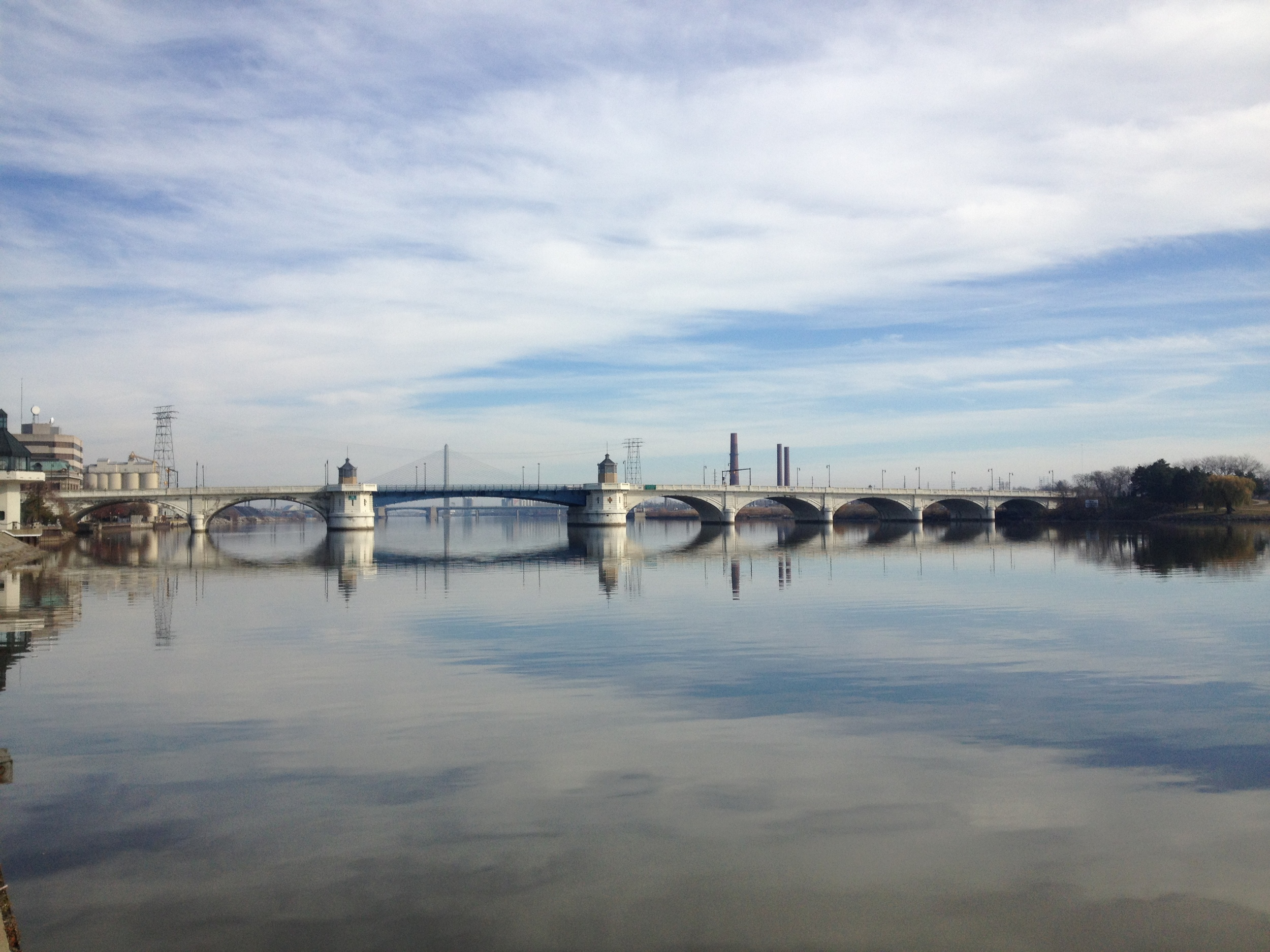 Maumee River, Toledo, OH 11-18-12