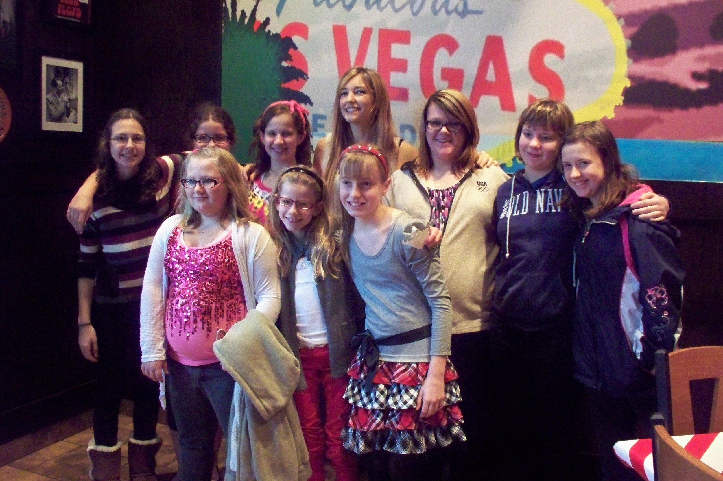 I had the pleasure of meeting these young ladies at the show in Pittsburgh, PA. It was fun to share with them about being a musician and a music therapist, as I remembered exactly what I felt like when I was a Girl Scout at their age! The Girl Scouts is an amazing organization providing adventure and leadership opportunities for young women.