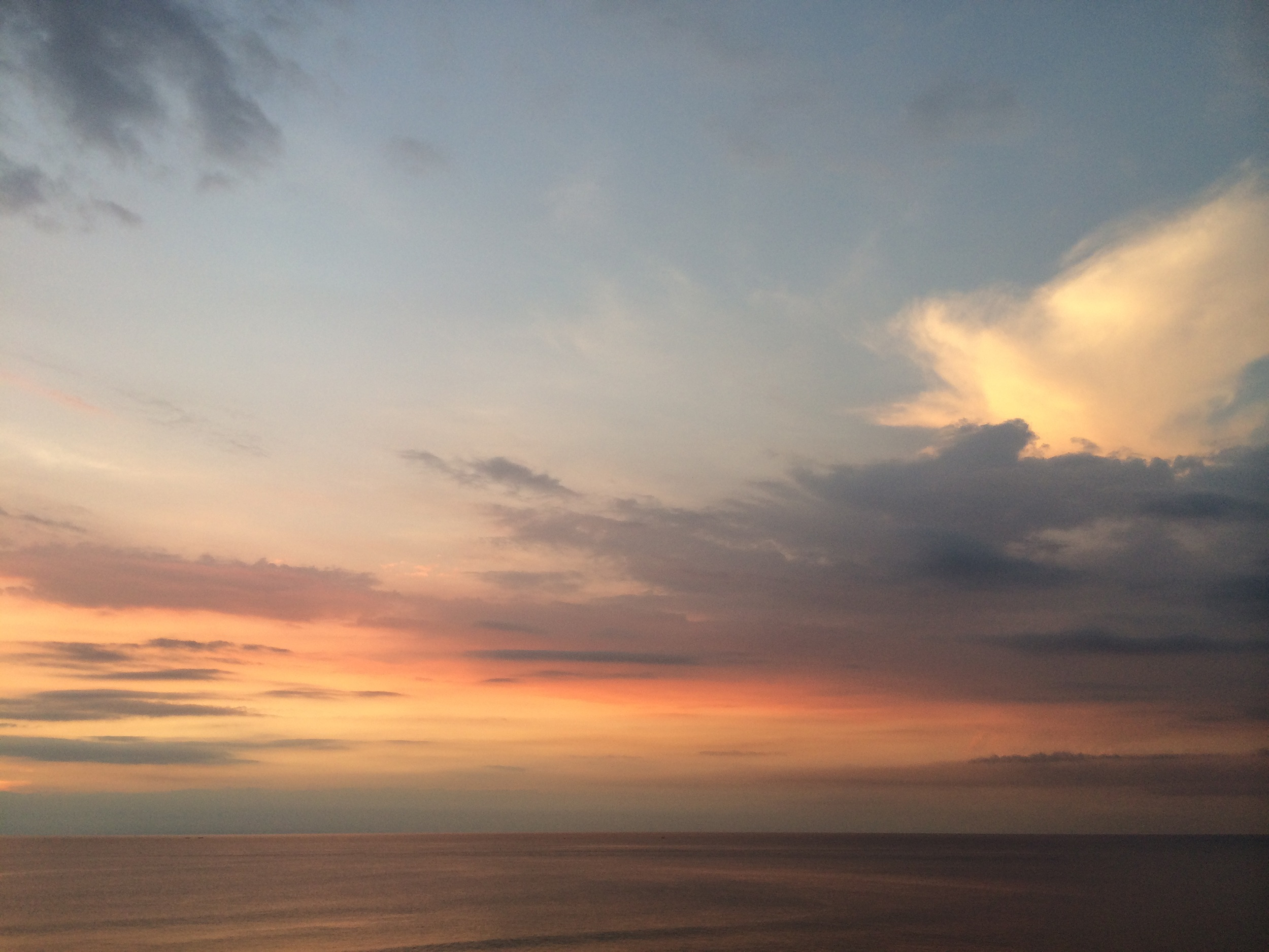 Sunset in Uluwatu, Bali - March 26 2014