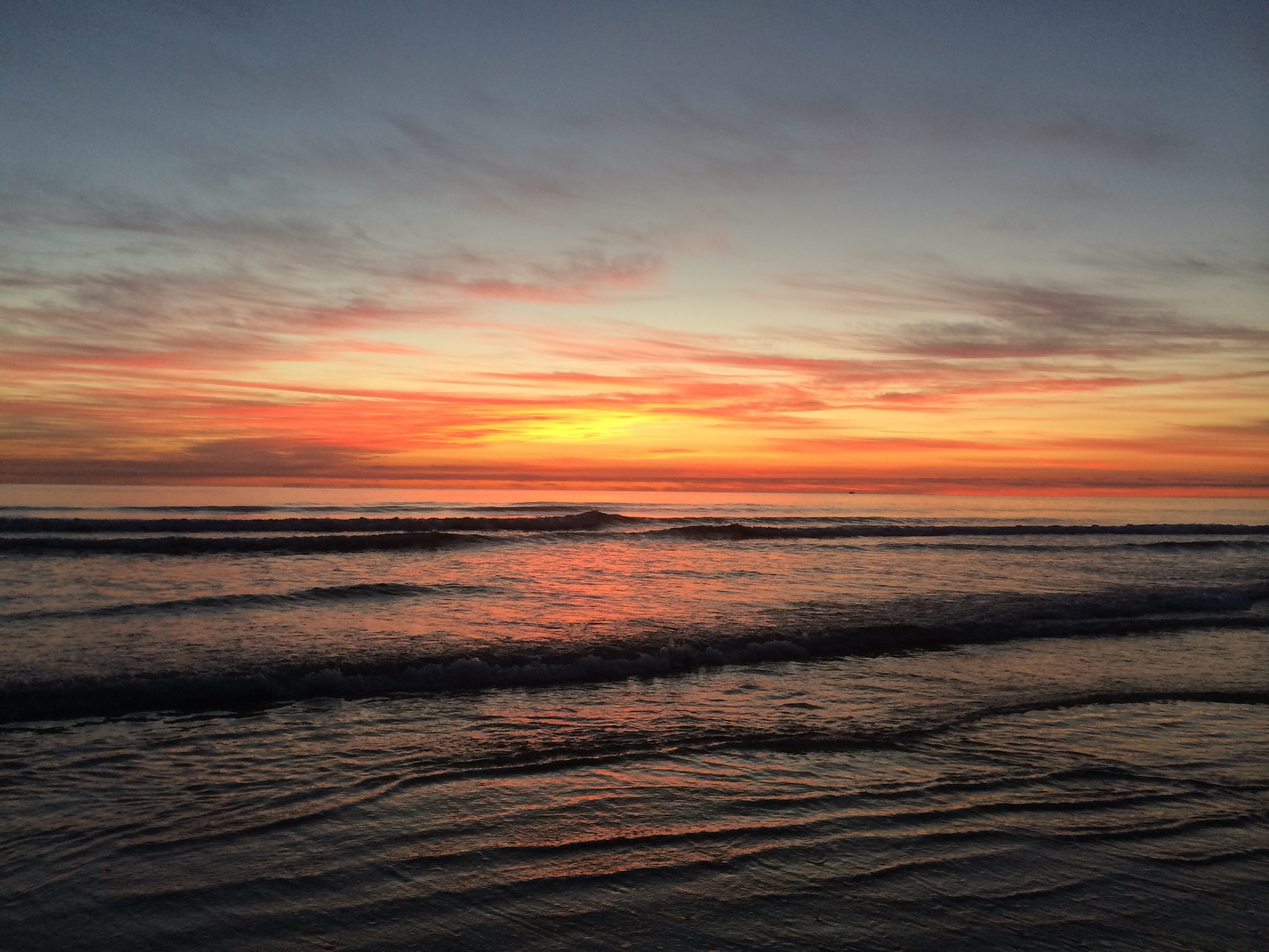 Red Waters at Dawn, St. Augustine, FL 2014