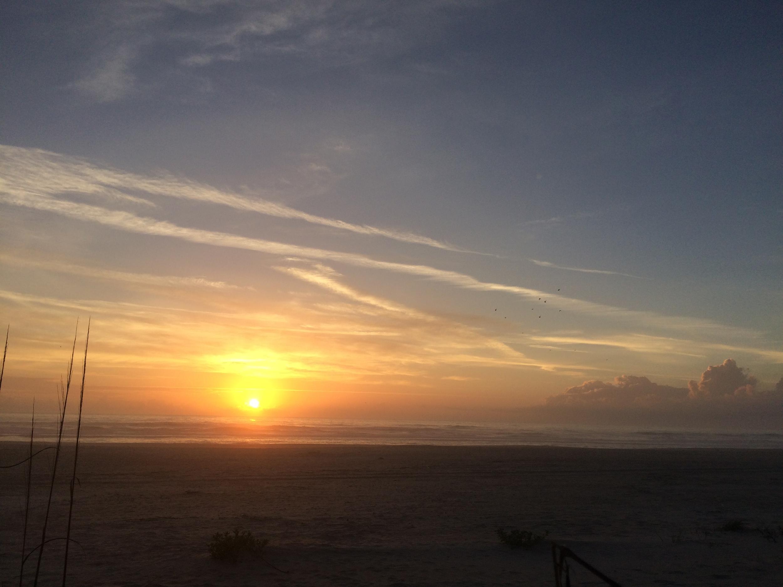 Saint Augustine Florida Sunrise March 13 2015