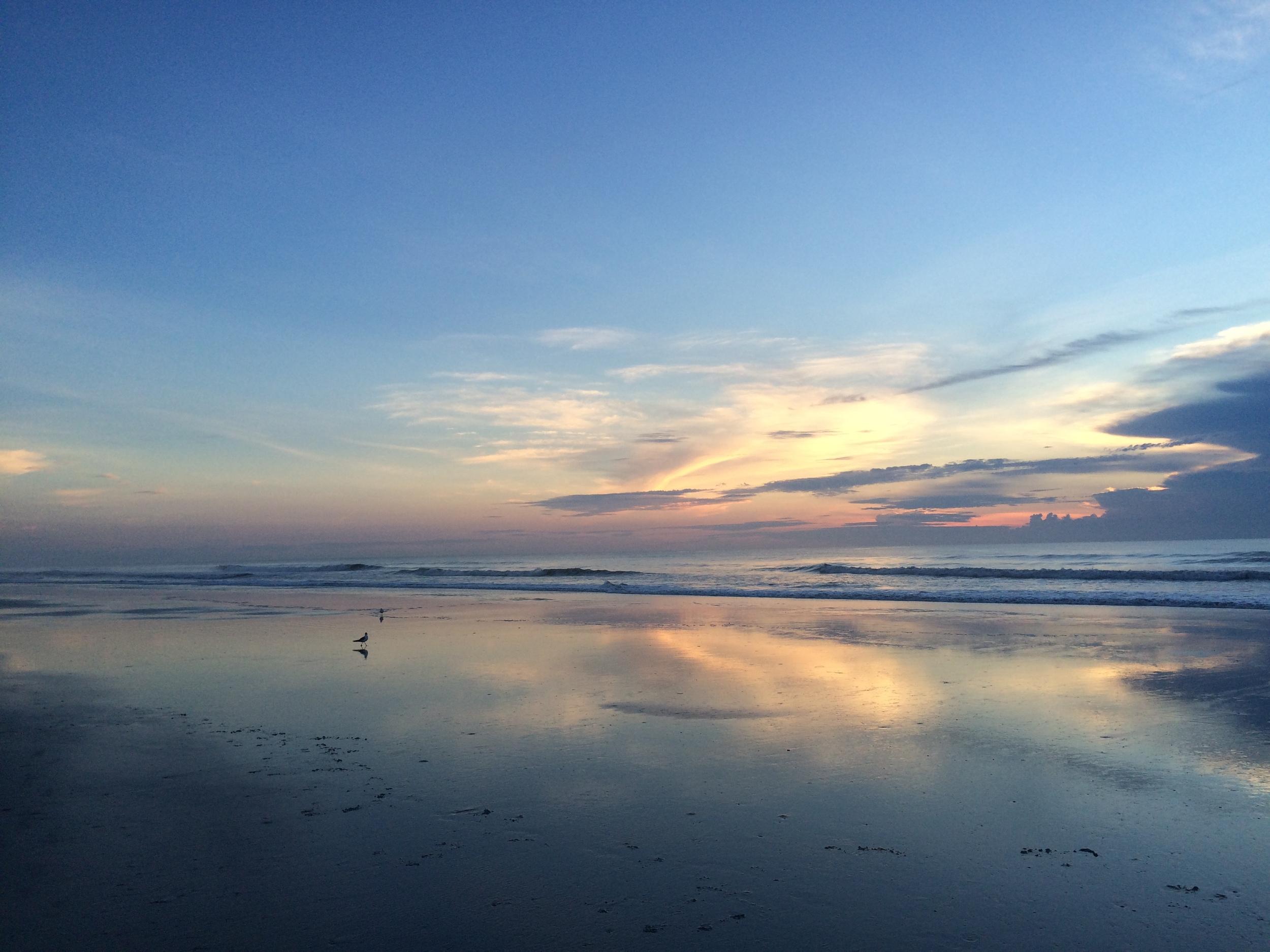Birthday Sunrise, St. Augustine, 8-20-2015