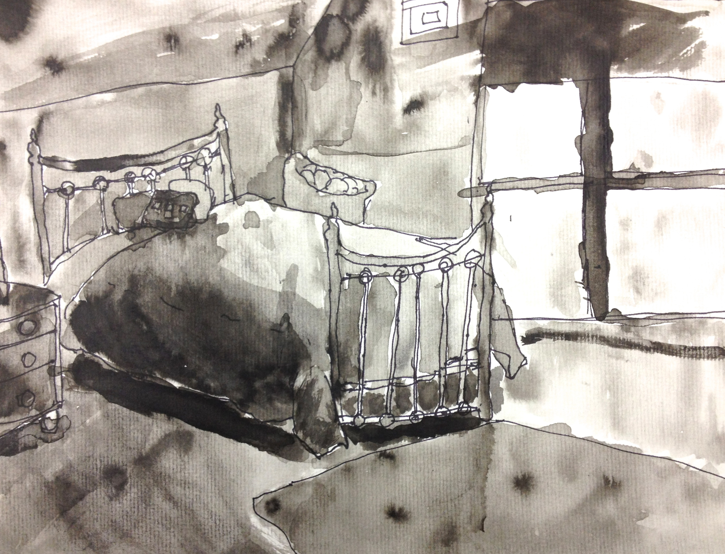 Pen and Ink Interior