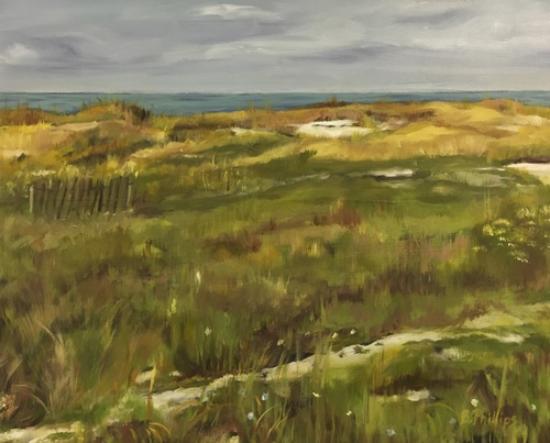Landscape Tutorials - Lots of info about painting landscapes, and helpful step-by-steps. Painting by former student Beverley Phillips.