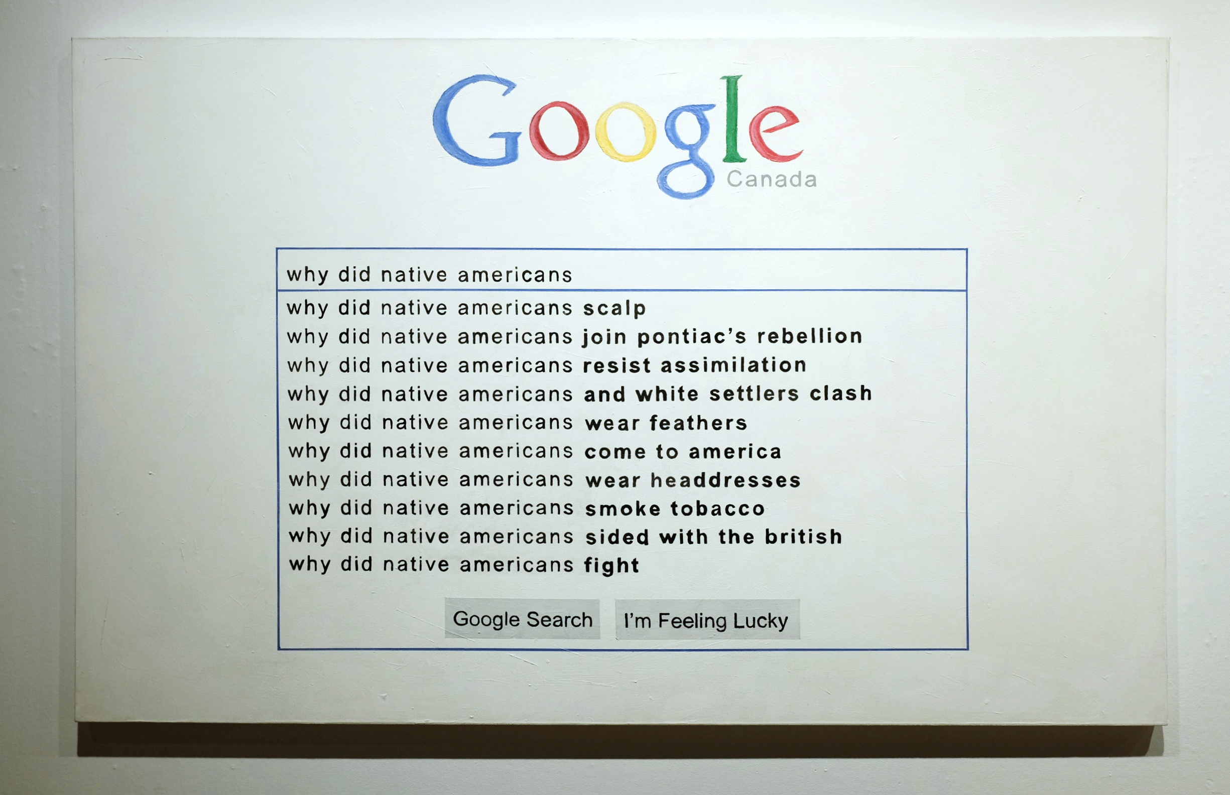Why did native americans