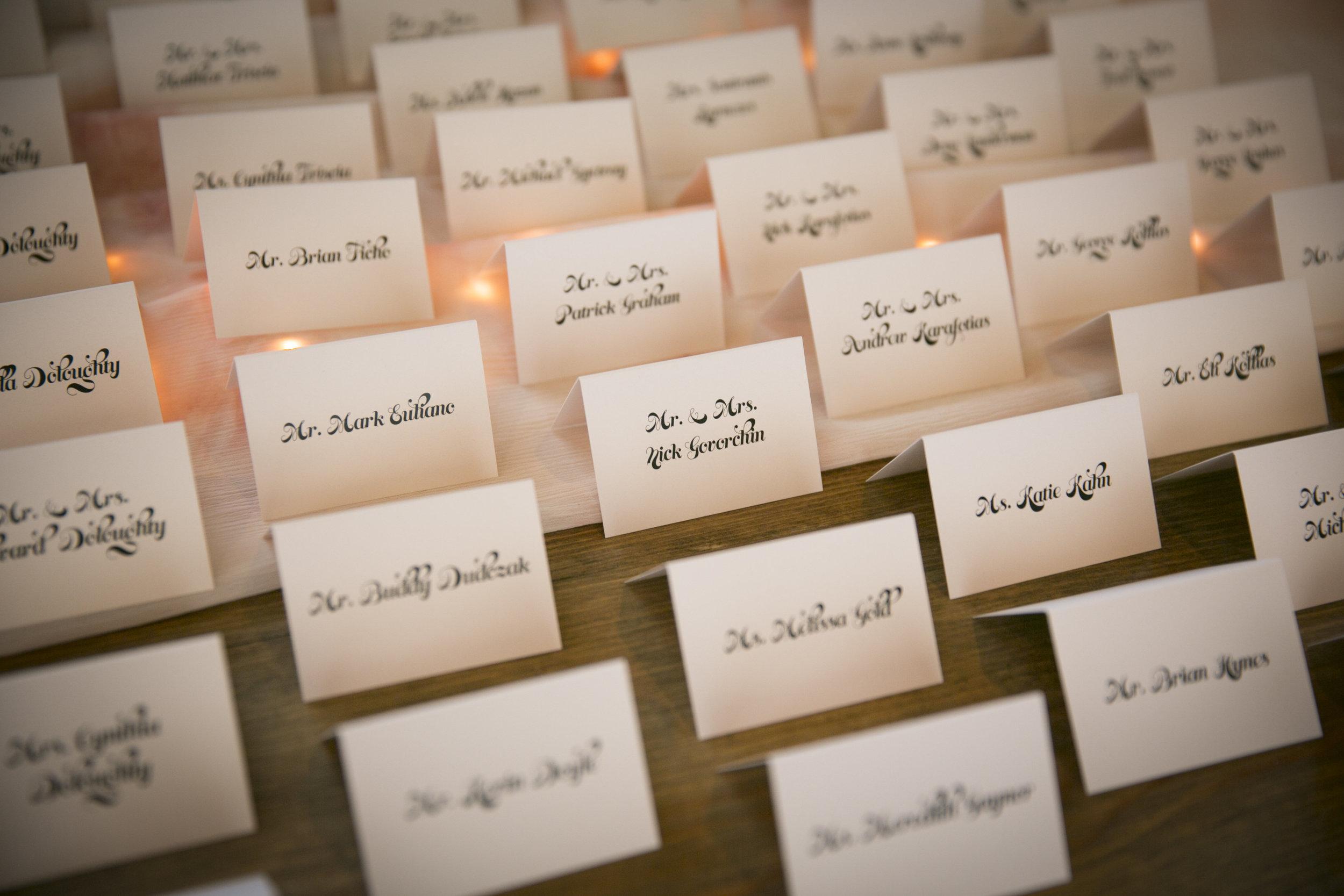 Wedding Seating Reception