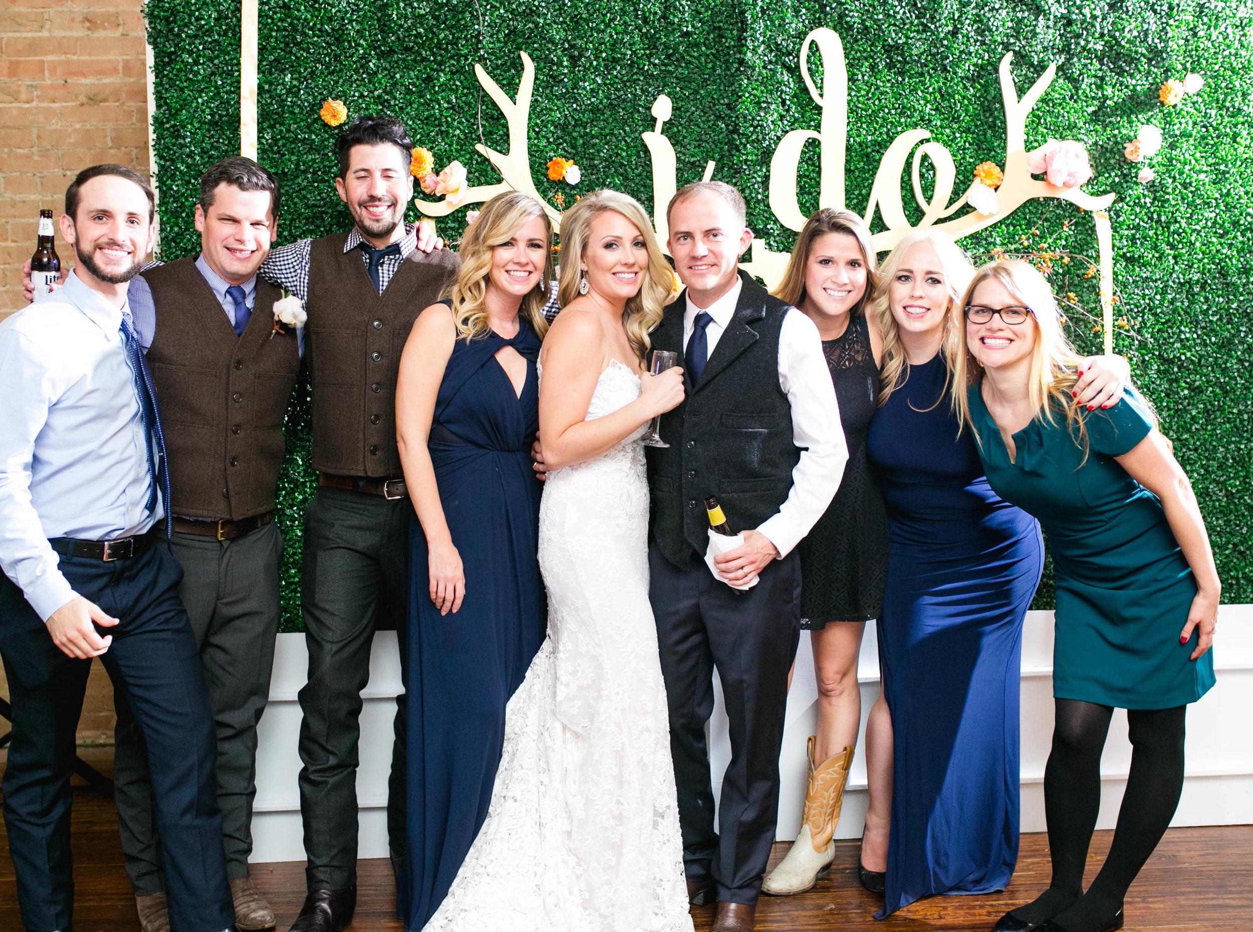 Bridal Party I Do Sign