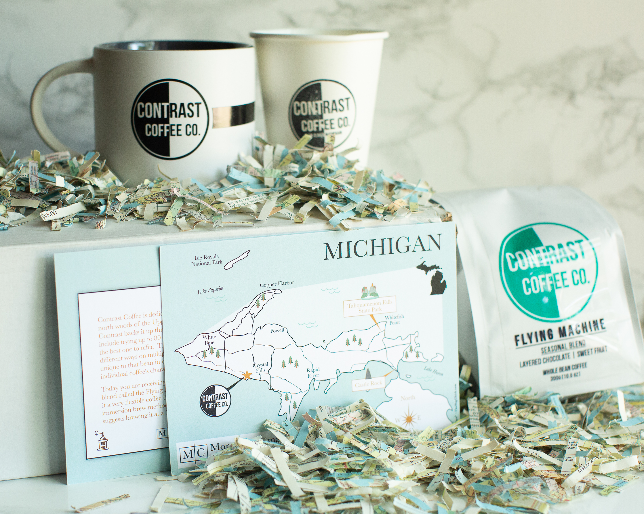 Coffee Cremea The Map Chick Michigan Map