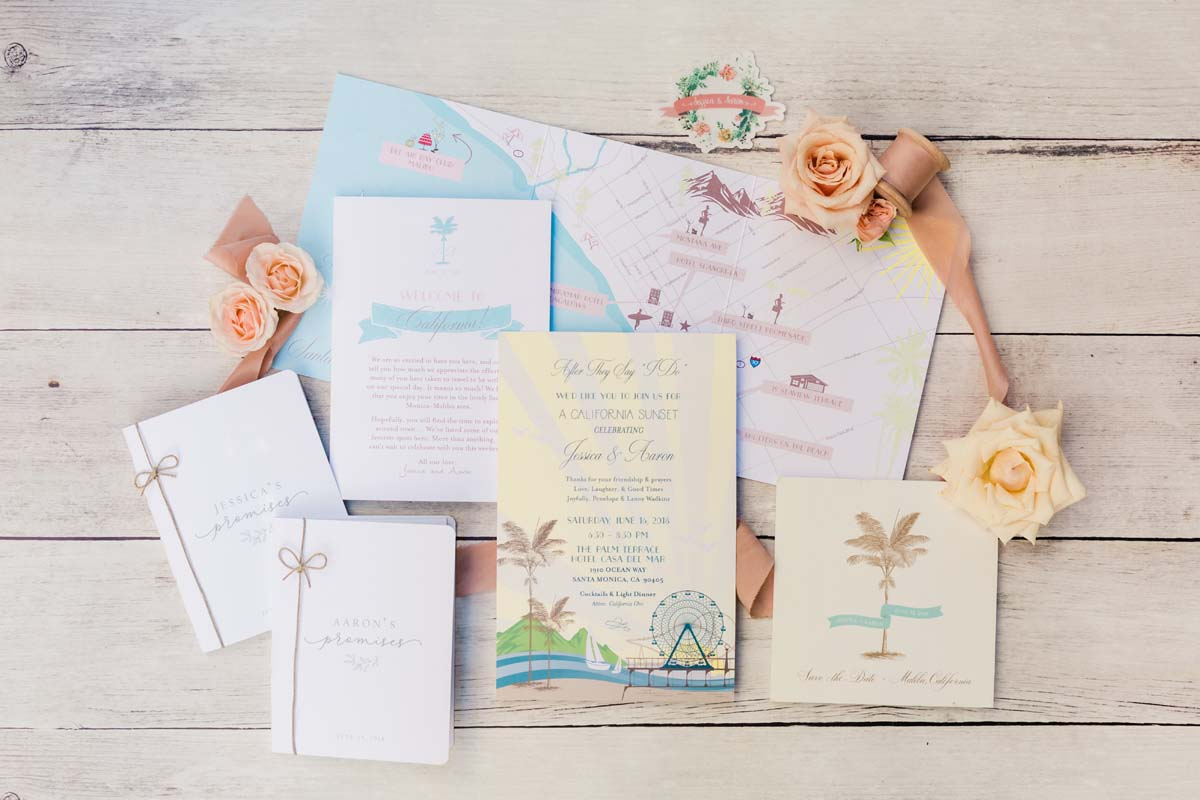 Custom Wedding Invitation Suite with Map.jpg
