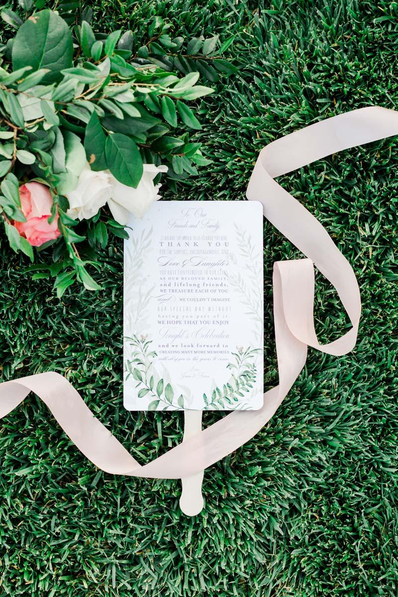 Wedding Program Fan Greenery.jpg