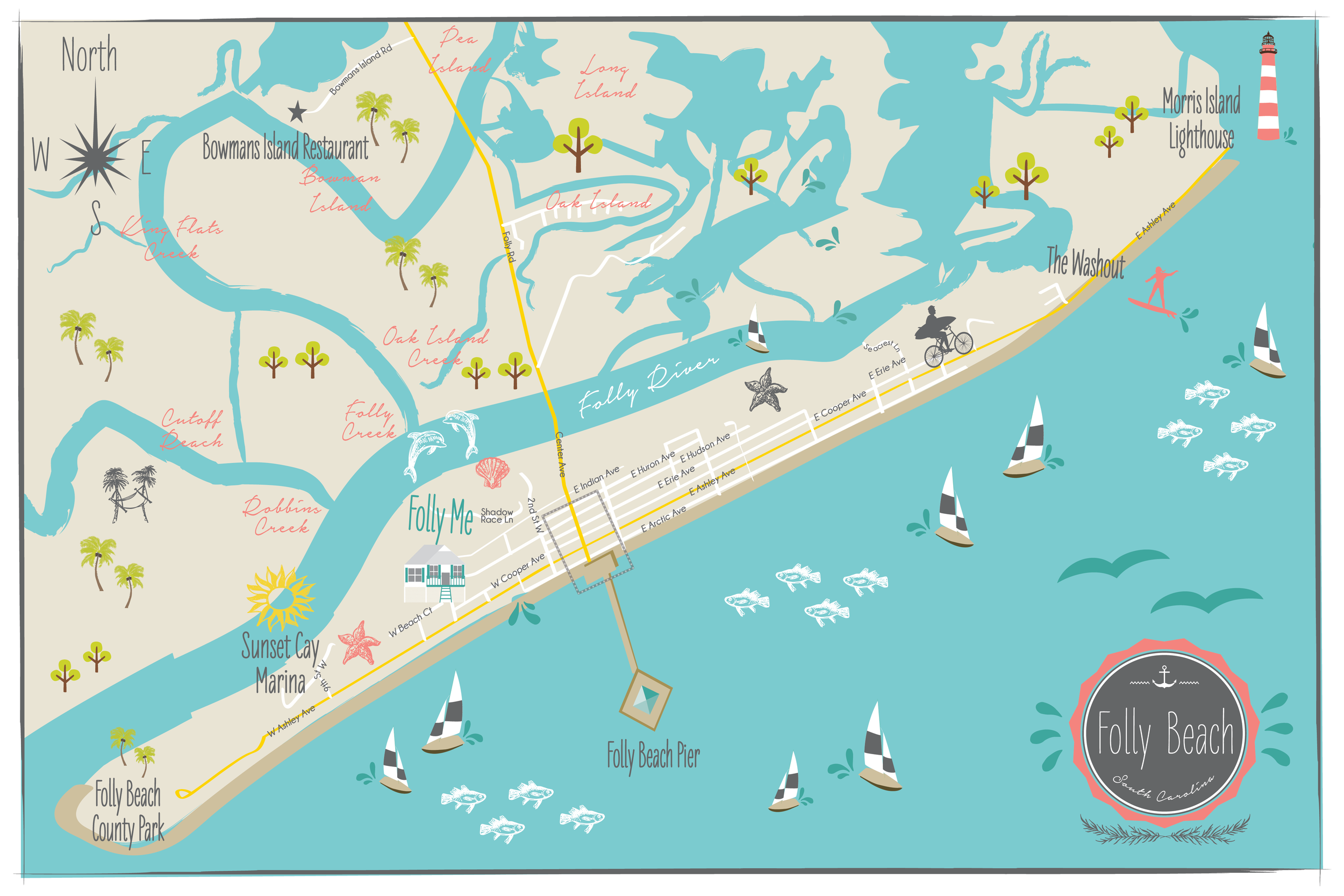 Folly Beach, S. Carolina Julie D_Map Front.png
