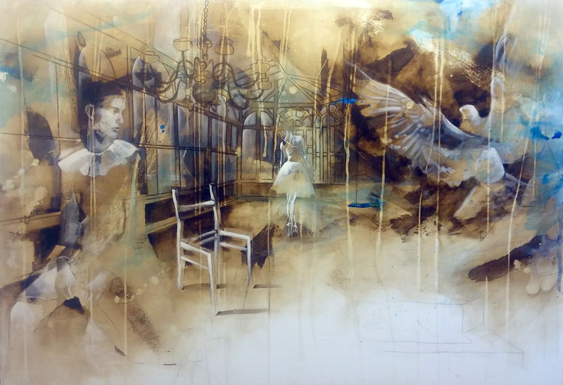 First day of something 130x190cm