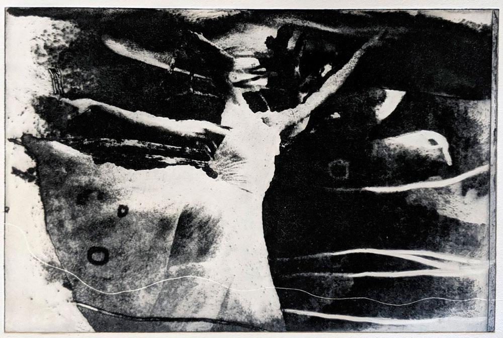 ballerina-fugl-polymer-etsning-Anne-Britt-Kristiansen.jpg