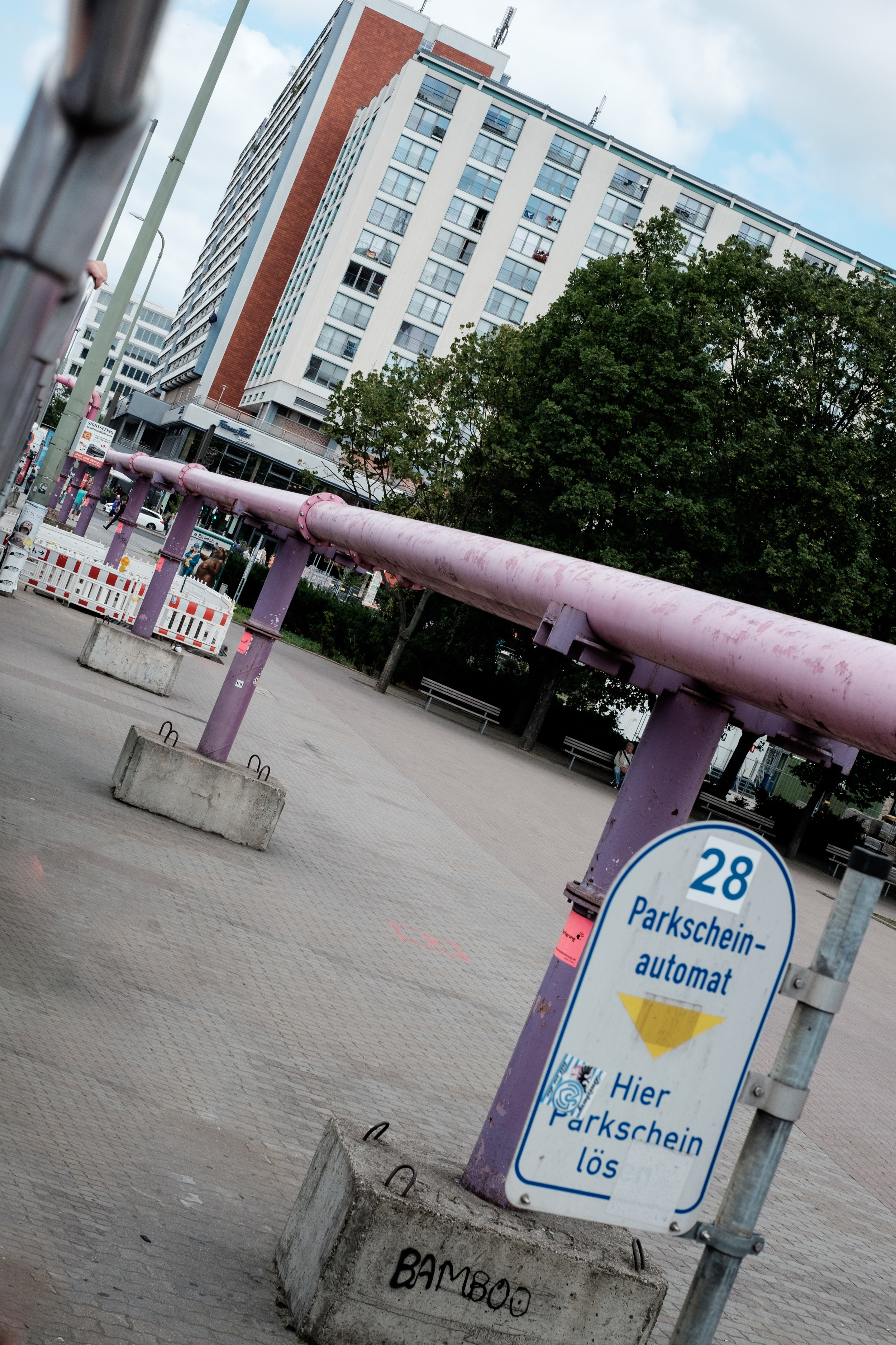 Drænrør, der holder Berlin tør