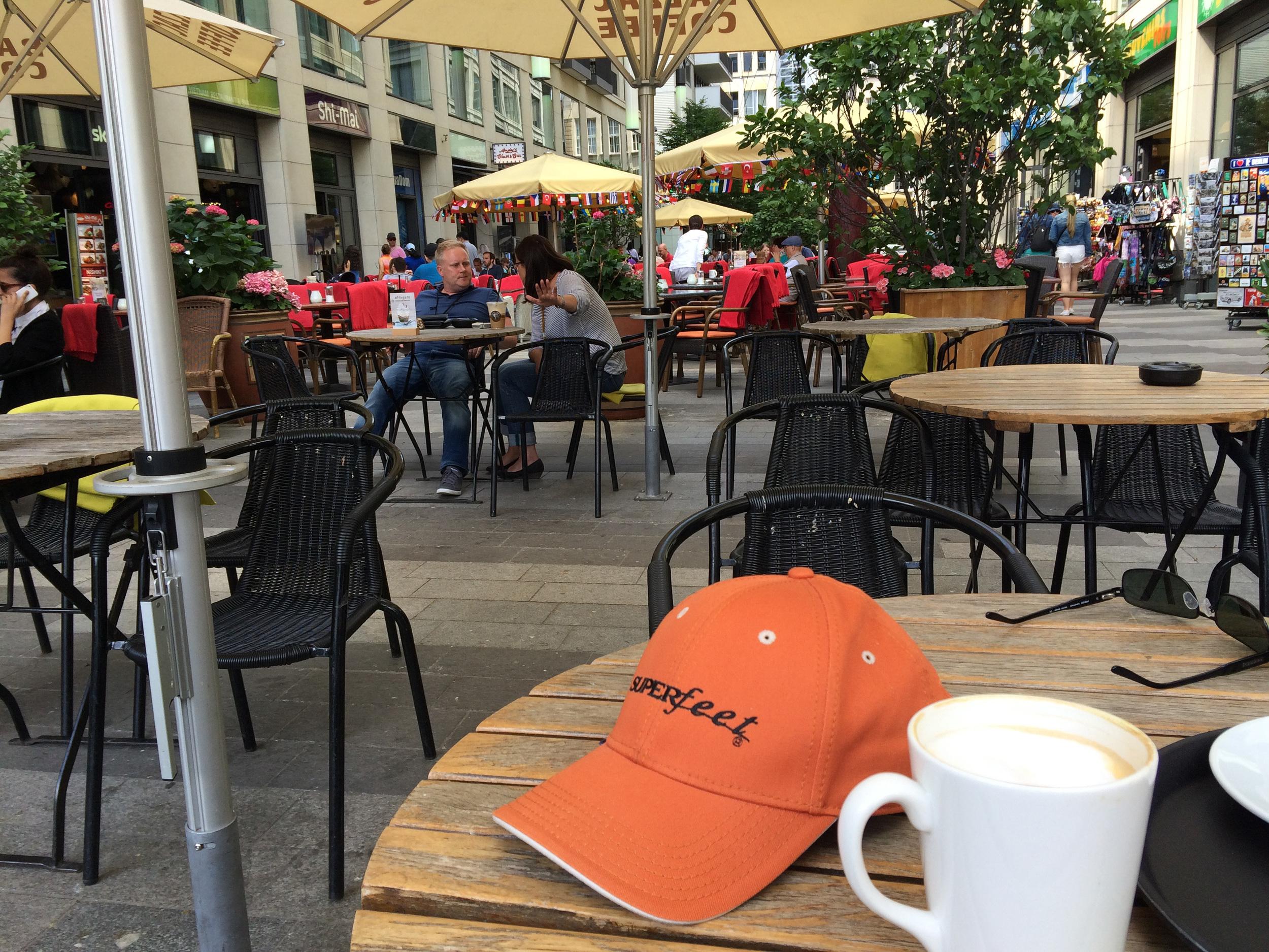 Kaffepause, inden DDR Museum