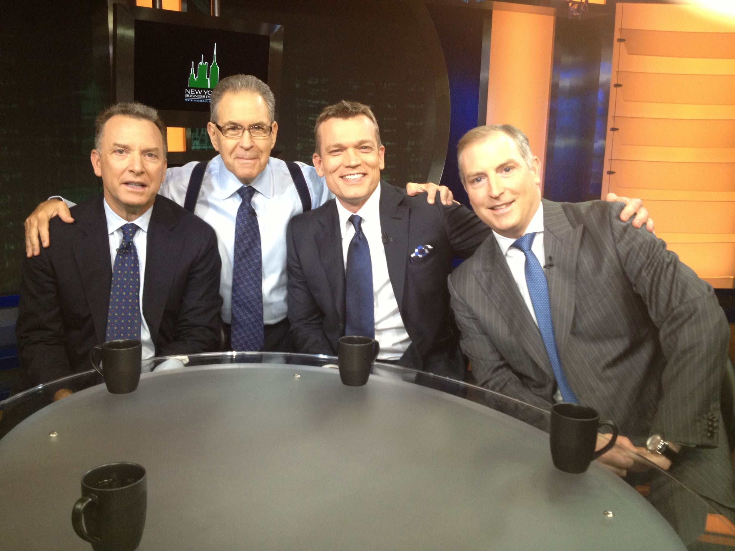 Steve Witkoff, Joe McMillan, Peter D'Arcy