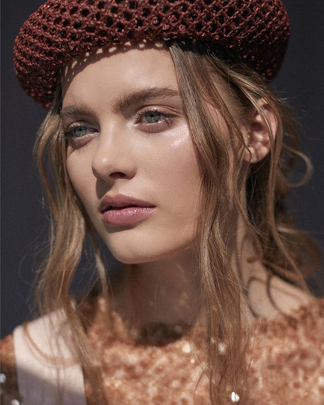 An outtake of Rebekka Sandok @rebekkasandok // @marilynagencyny from an editorial for @one_magazine  AD: @stephaniejofoley  Styling: @jennamichaelstylist  Hair: @yukienammori  MU: @jackiepiccolamakeup