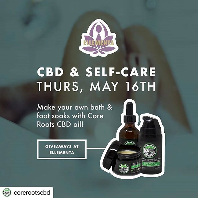 Register @eventbrite #Repost @corerootscbd • • • • • Hey, #jerseyshore women! Tonight's @ellementawoman Jersey Shore is all about #selfcare, featuring Core Roots and @rxmaryjade! Check out their IG page for signup info- and a chance to win some Core Roots products if you attend! #asburypark #oceangrovenj #bathsoak #metime #hempcbd