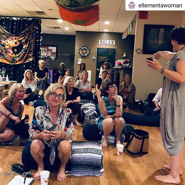 "Super Fun! Doing the 'Duck Race' 🦆 🤩🎉 #Repost @ellementawoman • • • • • From Day 3 of the #cannabisbooktour. Ellementa Jersey Shore in Atlantic Highlands last night@was held in a magical space @selflessloveyoga. So many good questions were asked of authors @drjunechin and @alizasherman. Everyone enjoyed treats from @vital_leaf and tea from @geovanacbd. Giveaways from @strainprint @erbannastyle @selflessloveyoga plus a copy of ""Cannabis and CBD for Health and Wellness."" #book #cannabisbook #cannabis #booktour #author #cbd #sisterhood #gathering #health #wellness #heal"